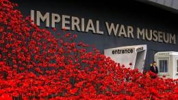 So erinnern Briten an Weltkriegstote