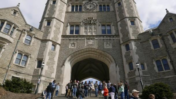 Princeton streicht Woodrow Wilsons Namen