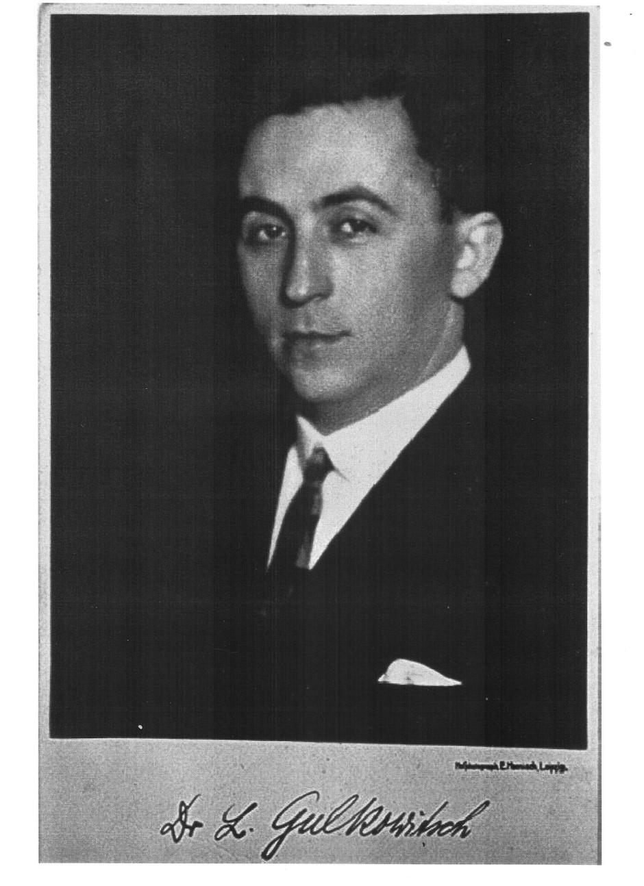Lazar Gulkowitsch in seiner Leipziger Zeit