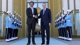 Qatar will 15 Milliarden Dollar in Türkei investieren