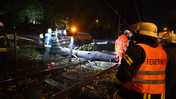 Unwetter sorgen für Schäden in NRW
