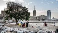 Hier entsteht Klein-Dubai: Auf dieser Abrissfläche im Zentrum von Kairo plant der britische Architekt Norman Foster ein neues Stadtviertel.