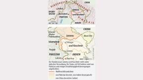 Infografik / Karte / Jammu Kaschmir