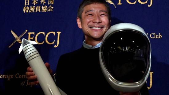 Japaner sucht Mondflug-Date