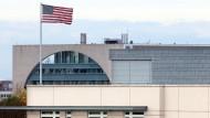 Die amerikanische Botschaft ist ein Geisterhaus
