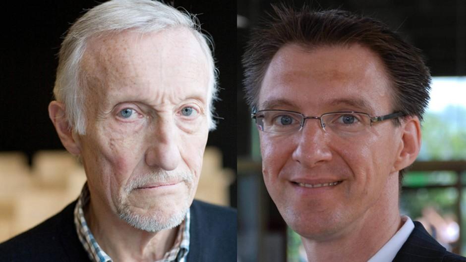 Die Autoren: Guy Kirsch (l) lehrt Neue Politische Ökonomie an der Universität Freiburg (Schweiz). Volker Grossmann hält dort den Lehrstuhl für Makroökonomie und Wachstum.