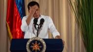 Duterte nimmt sich Auszeit