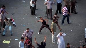 Viele Verletzte bei Protesten in Kairo