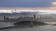 In der Cloud steckt Fortschritt: Vollkommene Vernetzung soll die amerikanischen Städte verändern. Auch San Francisco beteiligt sich am Zukunftswettbewerb des Verkehrsministeriums.