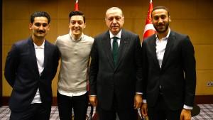Eine Marionette in Erdogans Spiel