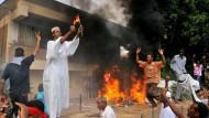 Sturm auf die Botschaft in Khartoum