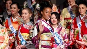 Der Kimono hatte seine Chance