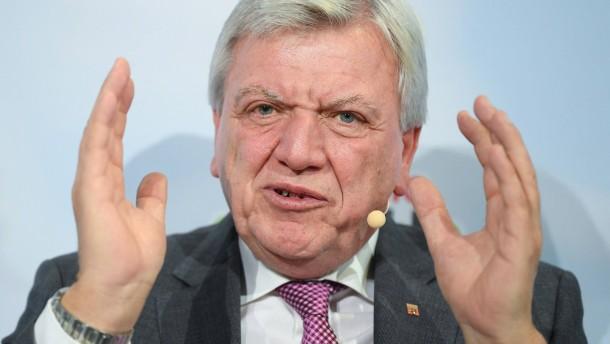 Bouffier gibt bekannt, wann er mit der Politik aufhören will