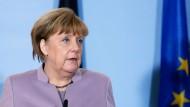 Merkel fordert für Brexit-Verhandlungen Einigkeit