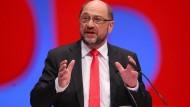 Macht beim Thema Ehe für alle Druck auf die Union: SPD-Kanzlerkandidat Martin Schulz