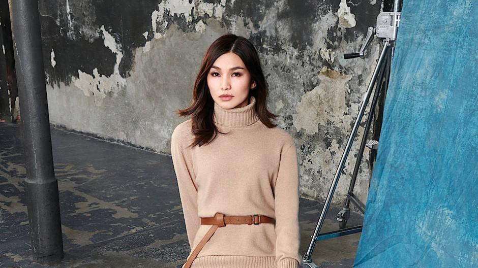 Ihr Weg: Gemma Chan ist Juristin und entschied sich spät für die Schauspielerei. Jetzt ist die Modemarke Max Mara auf sie aufmerksam geworden.