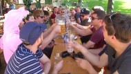 Hoch Walrita bringt Hitze nach Deutschland