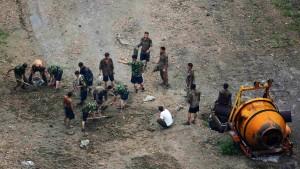 """Unglück von """"unvorstellbarem Ausmaß"""" in Pjöngjang"""