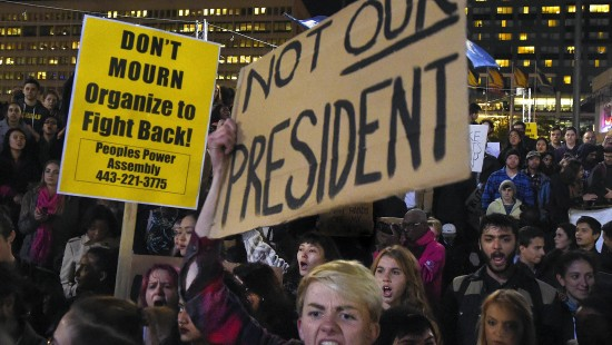 Neue Proteste gegen Donald Trump