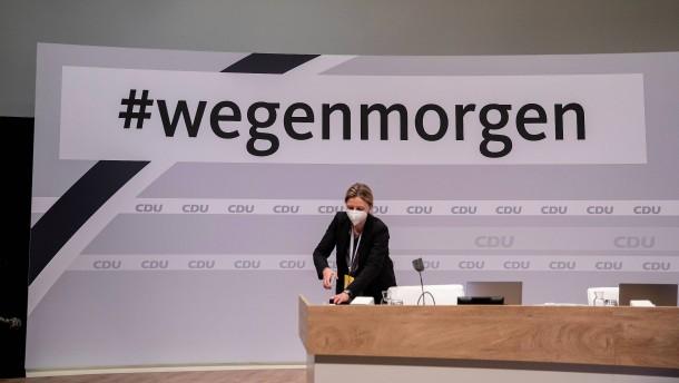 CDU hadert mit Digitalparteitag