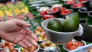 Die Inflation im Jahresvergleich wird zunehmend von höheren Nahrungsmittelpreisen beeinflusst