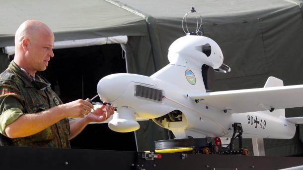 Ukraine-Winter wohl zu kalt für Bundeswehr-Drohnen