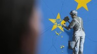 Neues Gemälde von Banksy aufgetaucht