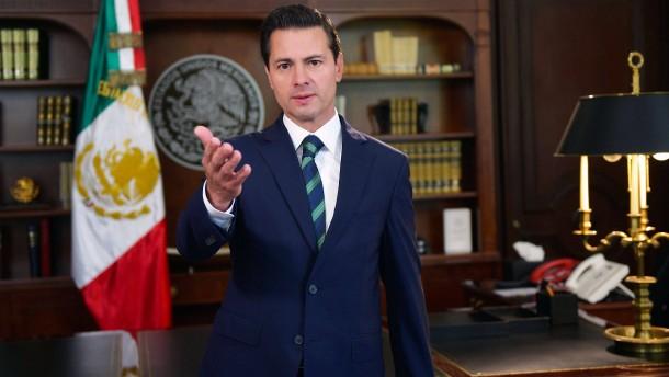 Mexikos Präsident wehrt sich gegen Trump