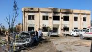 Dutzende Tote bei Anschlag auf Polizeischule in Libyen