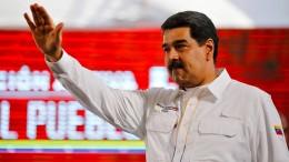 Linker Bundestagsabgeordneter trifft Maduro und Guaidó