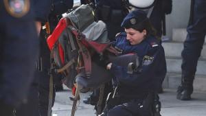 Vorgehen der Polizei gegen Demonstranten war rechtswidrig