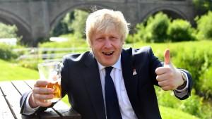 Boris Johnson hat seine Favoritin gefunden