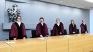 Der sechste Zivilsenat beim Bundesgerichtshof verkündet das Urteil zum Ärzte-Bewertungsportal Jameda