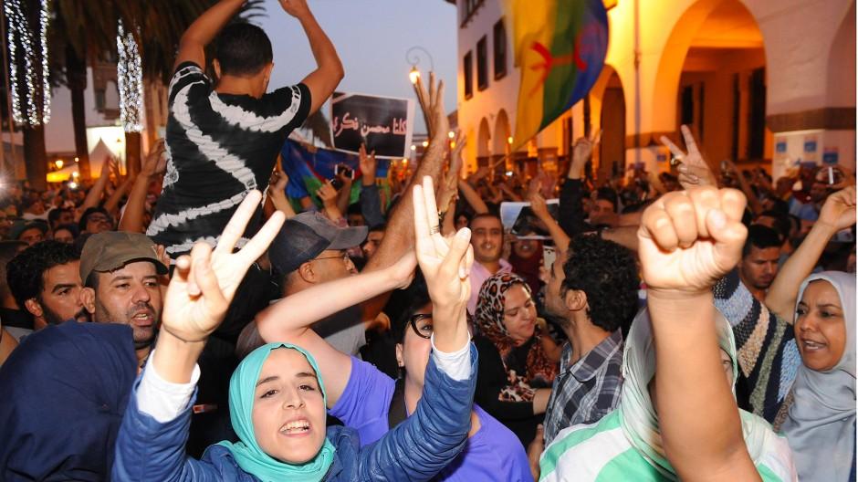 Al-Hoceima: Marokkaner gehen nach dem Tod des Fischhändlers auf die Straße