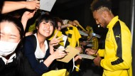 Borussia Dortmund begeistert in Japan empfangen