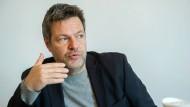 Robert Habeck: Der Bundesvorsitzende der Partei Bündnis 90/Die Grünen spricht über seine Hartz-IV-Vorschläge.