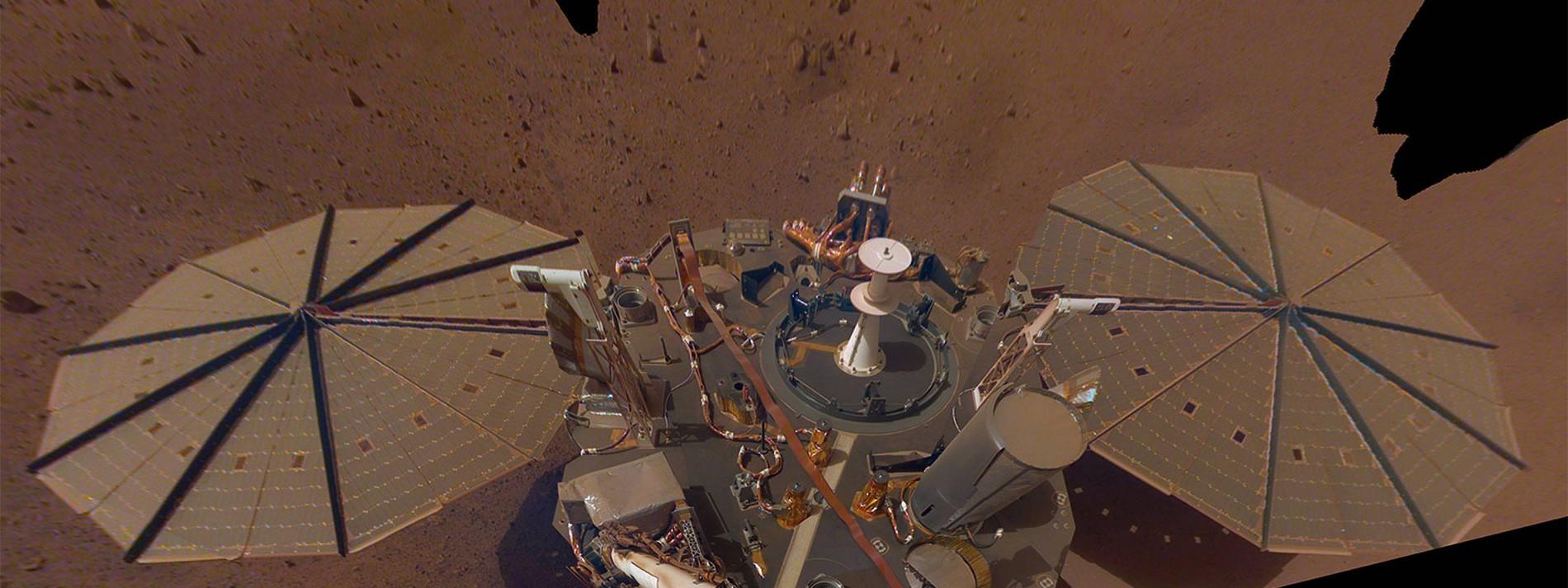 NASA misst drei große Beben auf dem roten Planeten