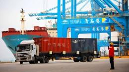 Chinas Handelsüberschuss sinkt – nur mit Amerika nicht