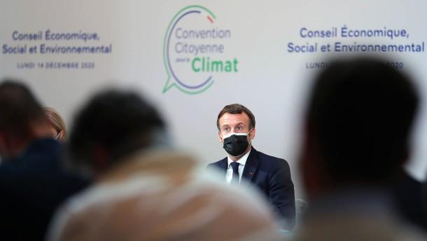 Verankert Frankreich Klimaschutz in der Verfassung?
