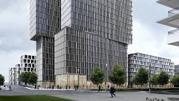 Neues Hochhaus für das Europaviertel