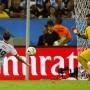 Das Weltmeister-Tor: Mario Götze bezwingt Argentiniens Torhüter Romero.