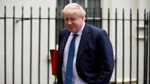 Britischer Außenminister Johnson tritt zurück
