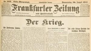 Die erste Kriegsperiode der deutschen Wirtschaft