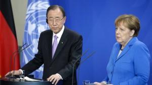 Merkel macht einen super Job