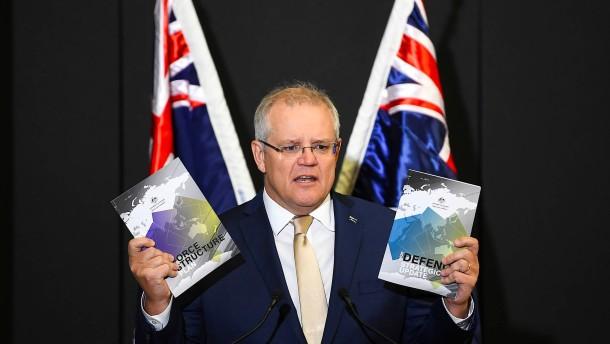 Australien rüstet massiv auf