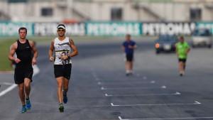 Ein Rennen am Limit