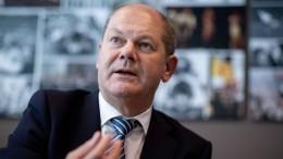 Scholz will Konzerne nicht vom Haken lassen