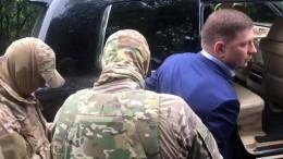 Russischer Gouverneur wegen angeblicher Mordaufträge verhaftet