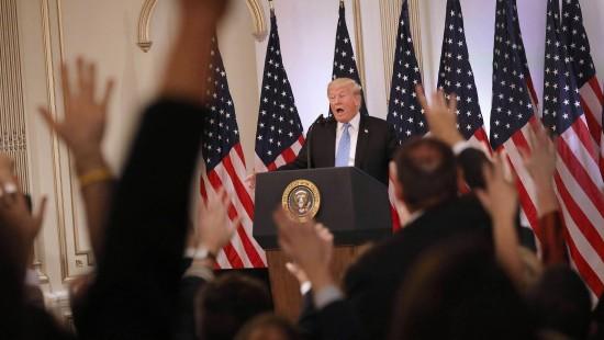 """Trump: """"Die Chinesen achten mein sehr großes Gehirn"""""""