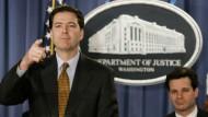 Künftig an vorderster Front: Christopher Wray soll neuer FBI-Chef werden